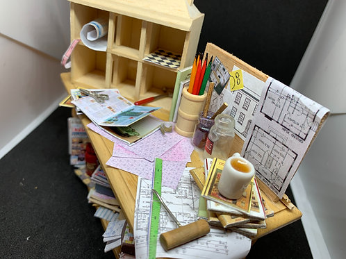 Dolls House Making Table