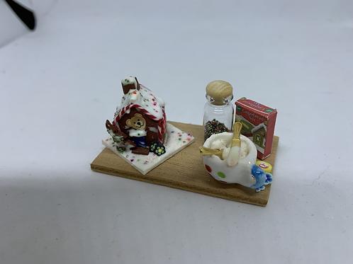 Gingerbread House Making Board
