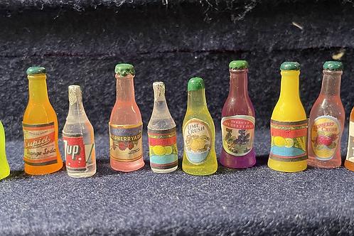 Vintage Pop Bottles x1 (assorted)
