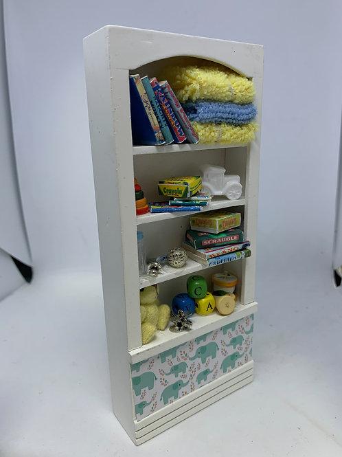 1/12th Boys Toy Shelf