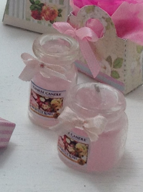 Rose Scented Candle (Tall)