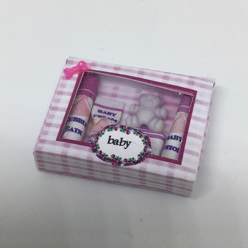 Baby Toiletries - Pink