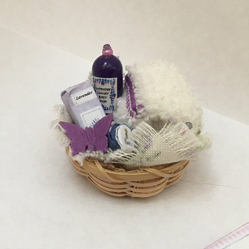 Lavender Toiletries Basket