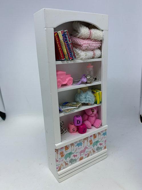 1/12th Girls Toy Shelf