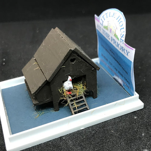 1/48th  - CHICKEN COOP
