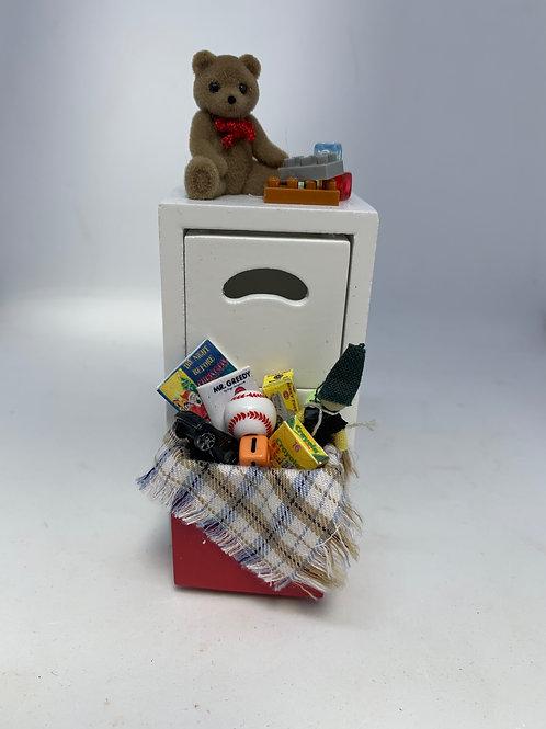 1/12th Boys Toy Cupboard