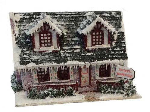 1/144th Scale House Kit - Santas Workshop