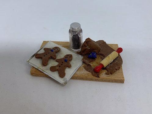 Gingerbread Men Making Board