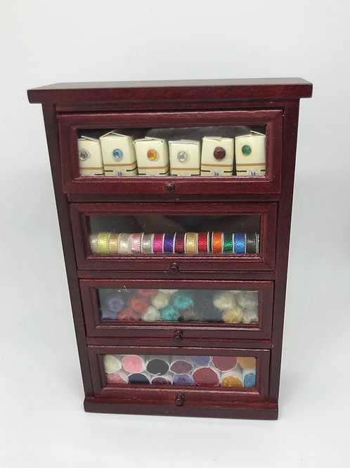 Haberdashery Shop Shelves