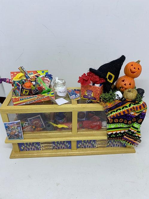 Bonfire / Firework  /Halloween Counter