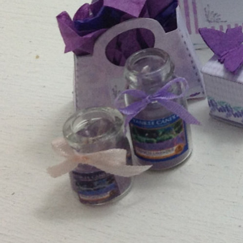 Lavender Scented Candle (Small)