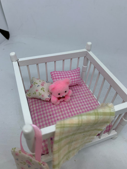 1/12th Pink Playpen