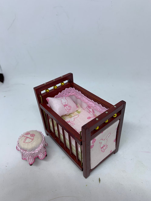 1/16th cot and stool