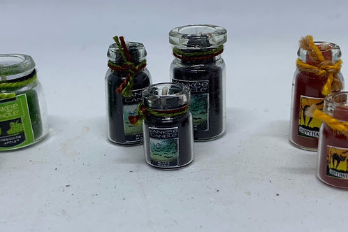 Halloween Candle x1 (sizes and colours vary)