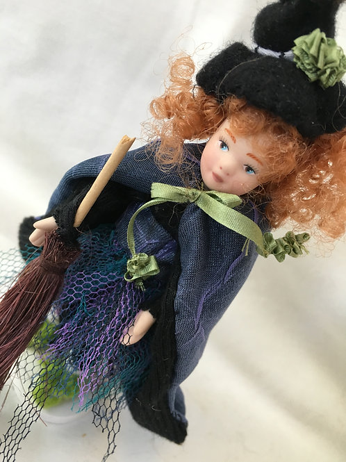 doll in dress Up Witch Costume