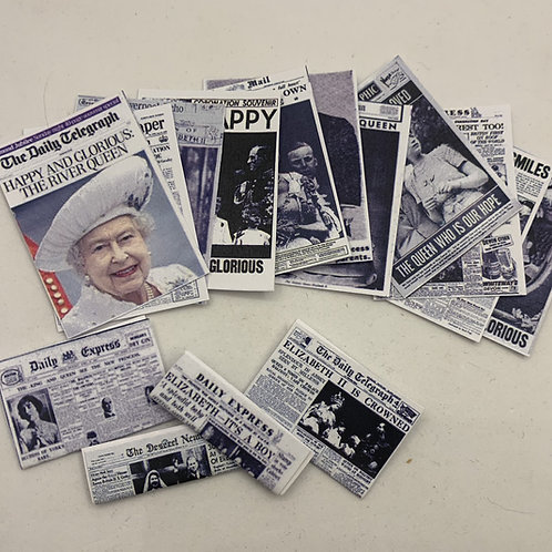 Royal Newspaper pack