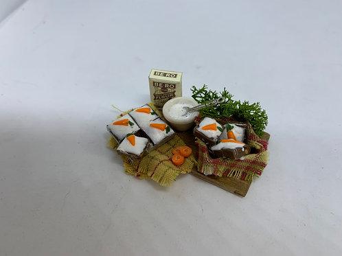 Carrot Cake Making Board