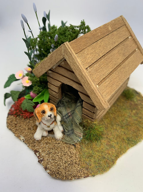 Dog Kennel Scene