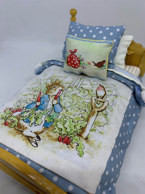 1/12th single bed - Peter Rabbit
