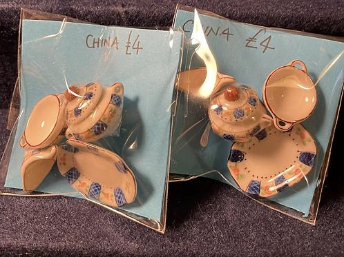 Assorted china