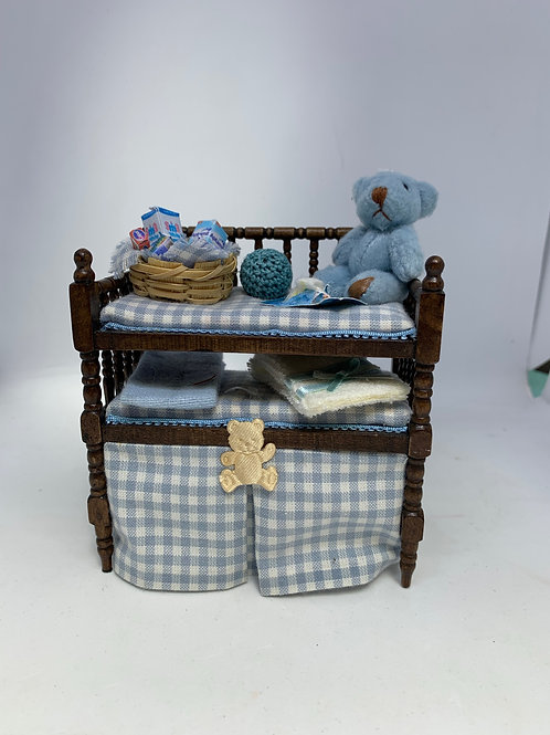 1/12th Boys Baby Changing Unit