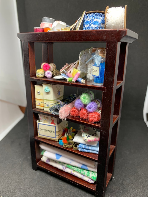 1/12th Sewing Shelf