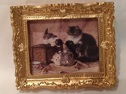 Picture 3 - Cat with Kittens