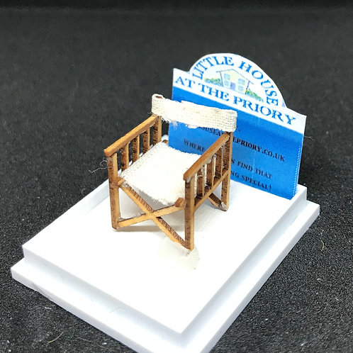 1/48th  - DIRECTORS CHAIR