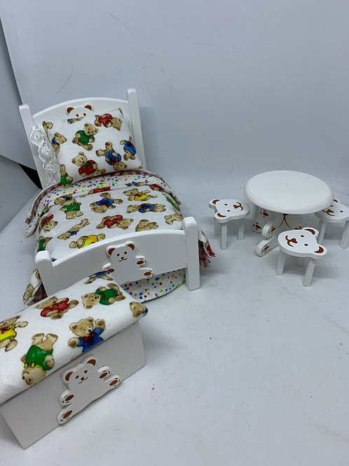 1/12th Childs Bed Set