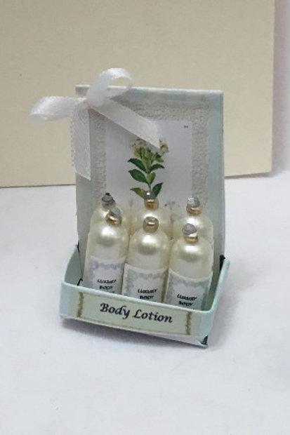 Gardenia Body Lotion Counter Display