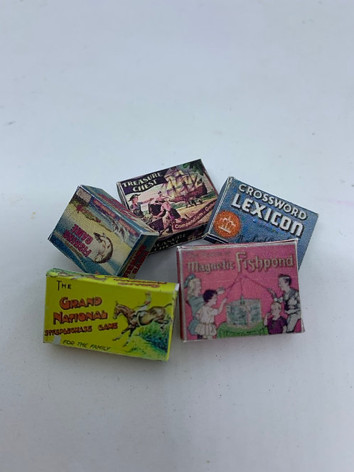 Set of 5 Boxed Games