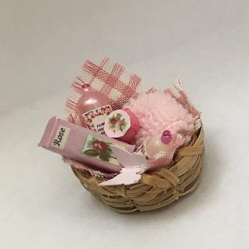 Rose Toiletries Basket Display