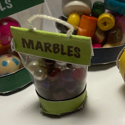 Toy Bag - Marbles