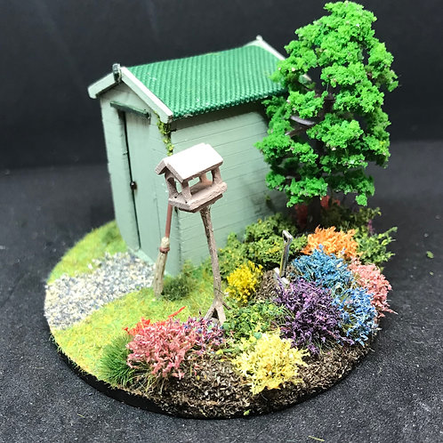 1/48th  - GARDEN SHED GREEN