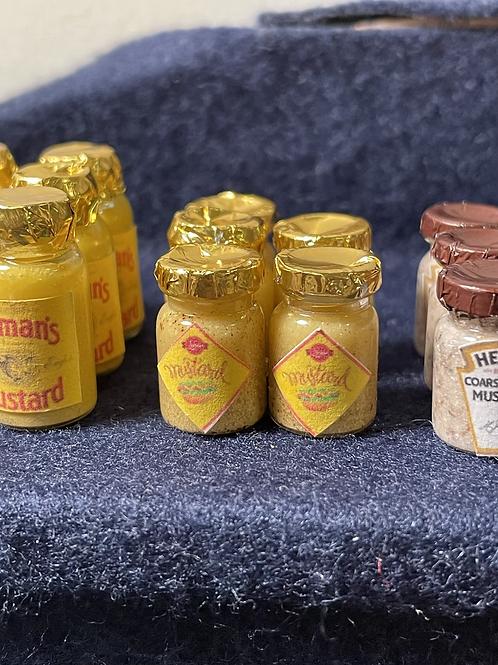 1/12th mustard jar x1