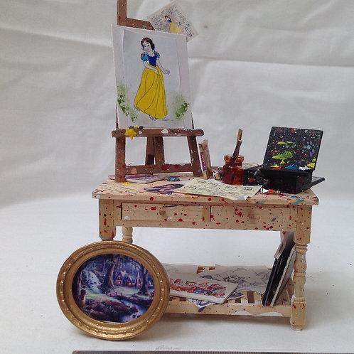 Artist Table - Snow White