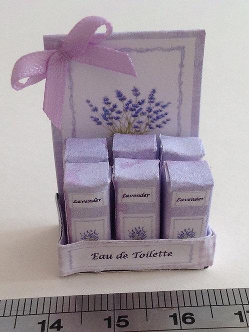 Lavender Eau de Toilette Counter Display Box