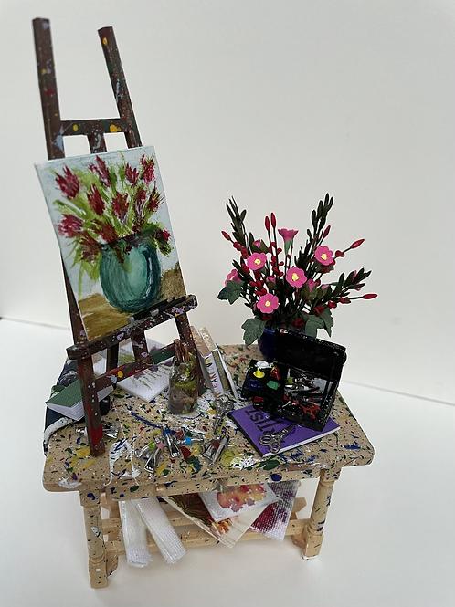 Artist Table - flower