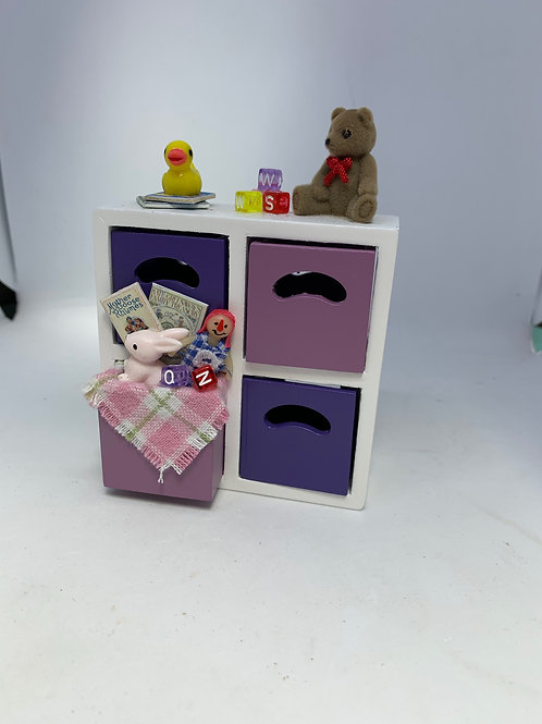 1/12th Boys Toy Cupboard