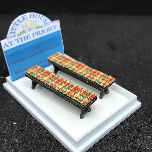 1/48th  - BENCHES S/2