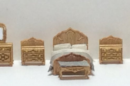 1/144th Scale Furniture Kit -  Victorian Bed Room