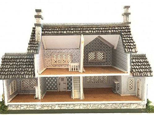 1/144th Scale House Kit - Harper Grace Tudor House