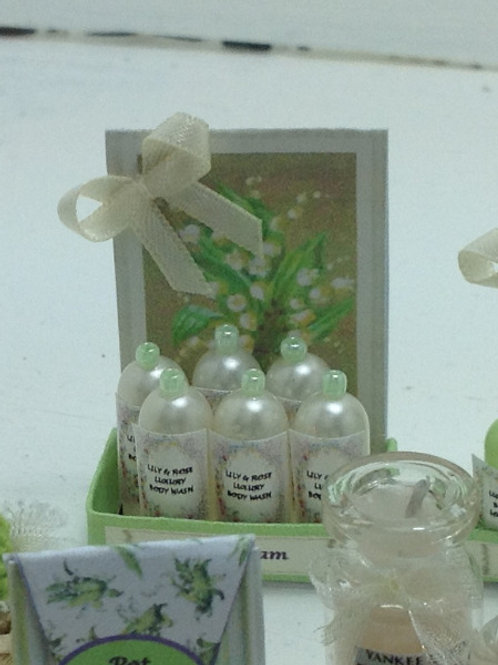 Lily of the Valley Bath Foam Counter Display