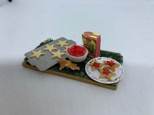 Christmas Cookie Making Board