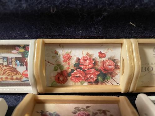 Tray roses