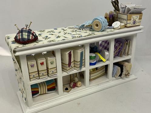 1/12th Haberdashery Sewing Counter