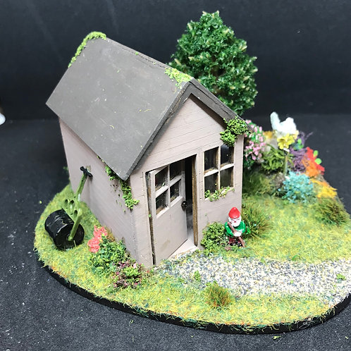 1/48th  - GARDEN SHED