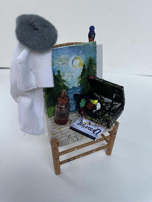 Artist chair - scenic