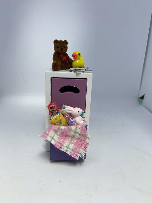 1/12th Girls Toy Cupboard