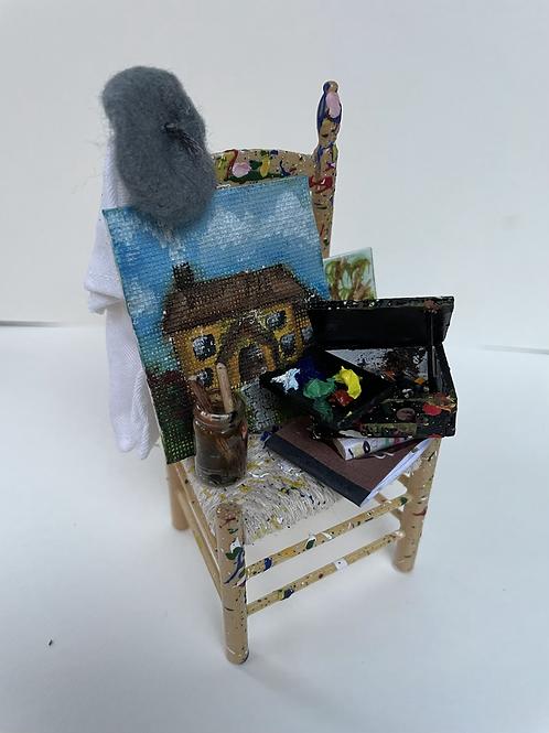 Artist chair cottage